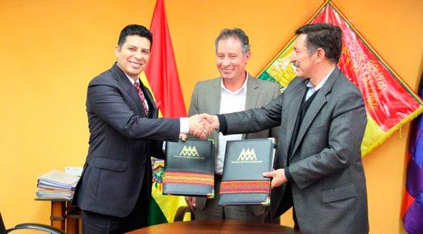 Convenio de cooperación entre COMIBOL y la Cámara Minera del Perú