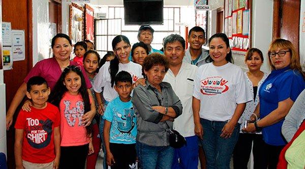 Puesto de salud de Ancón recibe donaciones de nuestra institución