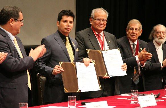 Convenio de cooperación entre UNI y Cámara Minera del Perú