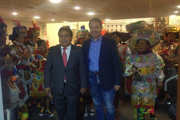Manifestaciones culturales del Perú son apoyadas por la Cámara