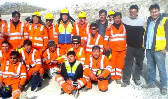 Capacitación en seguridad y rescate minero dictada por nuestra institución