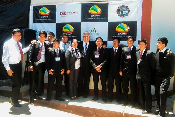 Seminario Nacional para Estudiantes de Minería en Huancavelica