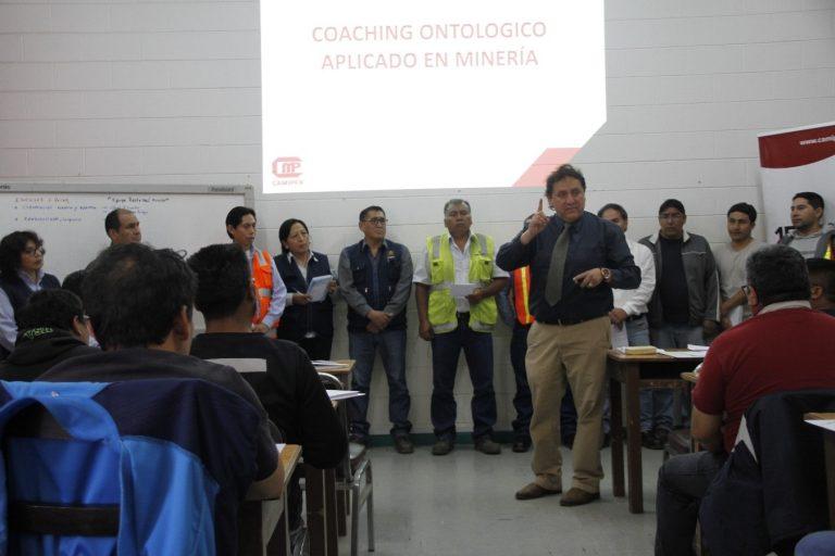 Segunda jornada de capacitación minera In-Company en mina Cobriza