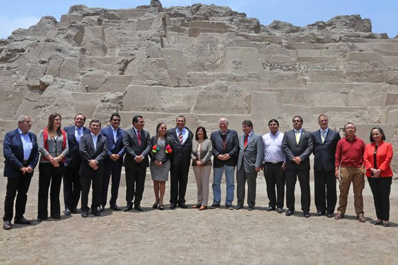 la Cámara Minera de Perú forma parte del lanzamiento del programa Lima, Ciudad de las Huacas