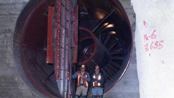 Nuestra institución impulsa la simulación de ventilación en minas