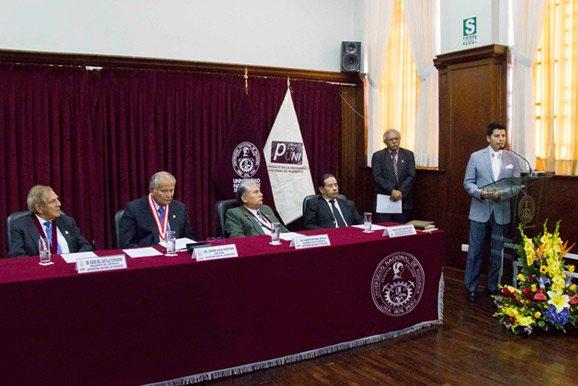 Ingresantes a la UNI: Cámara Minera del Perú participó en ceremonia
