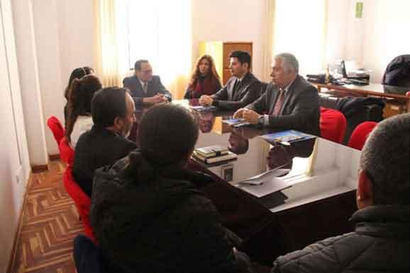 UPSC participa en mesa de trabajo junto a nuestra institución