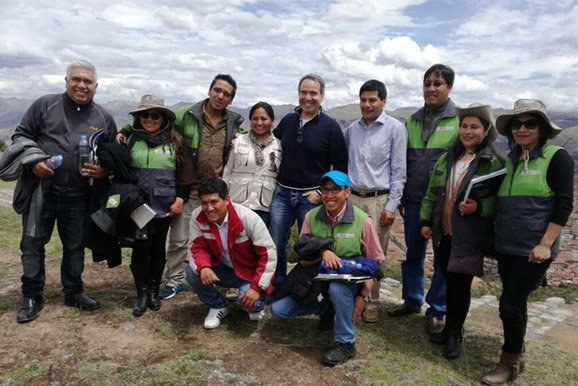 Supervisión para la restauración de la fortaleza de Sacsayhuamán