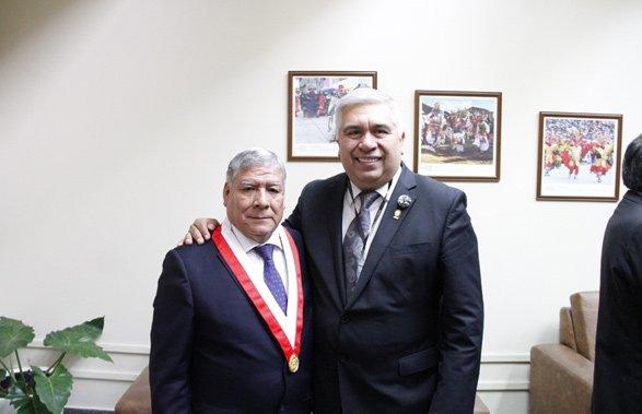 UNMSM refuerza lazo de amistad con nuestra institución