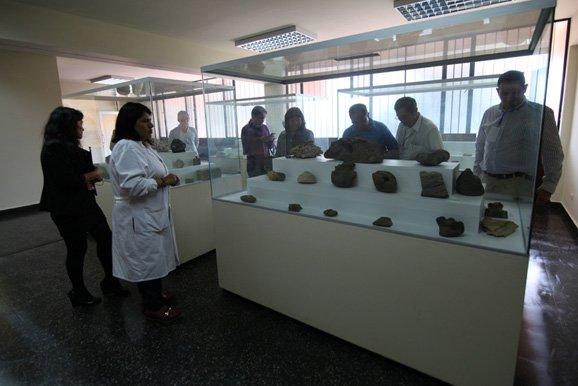 Delegación extranjera del GEOMET 2016 visitó los museos de la UNI