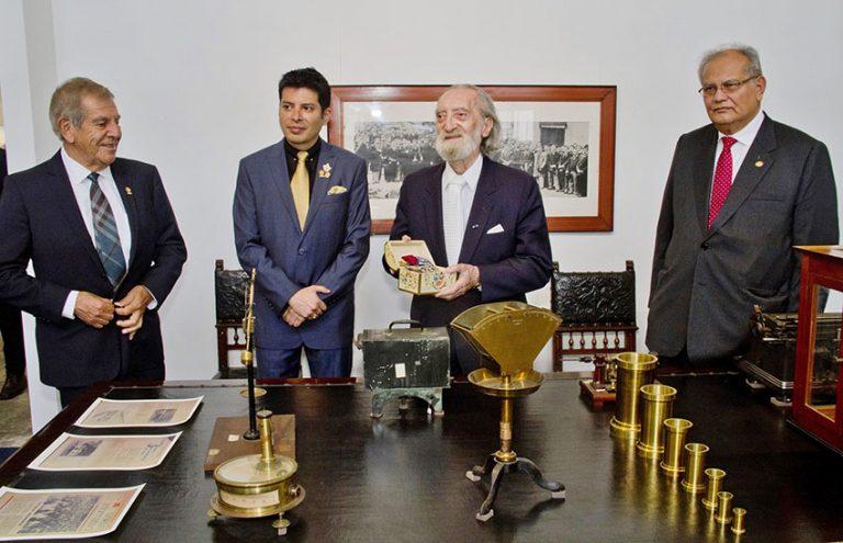 Embajador Edgardo de Habich visitó Museo Eduardo de Habich
