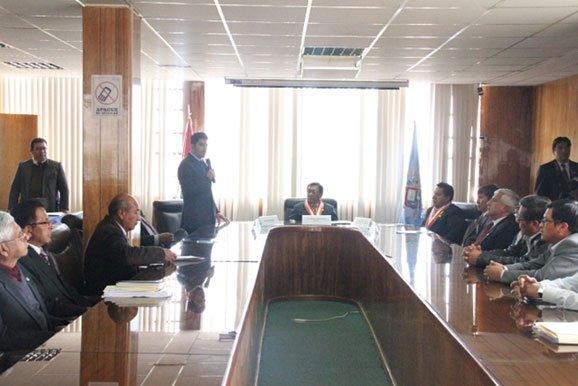 Convenio marco con Universidad Nacional del Altiplano y la Cámara