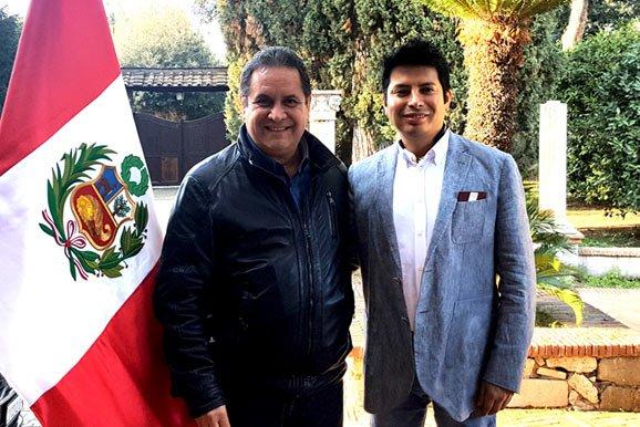 Embajador del Perú en Italia se reúne con presidente de la institución