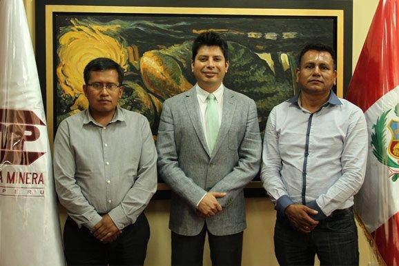Alcalde distrital de Madre de Dios se reúne con presidente de la institución