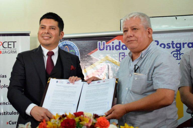 Convenio de cooperación entre la UAGRM y nuestra institución