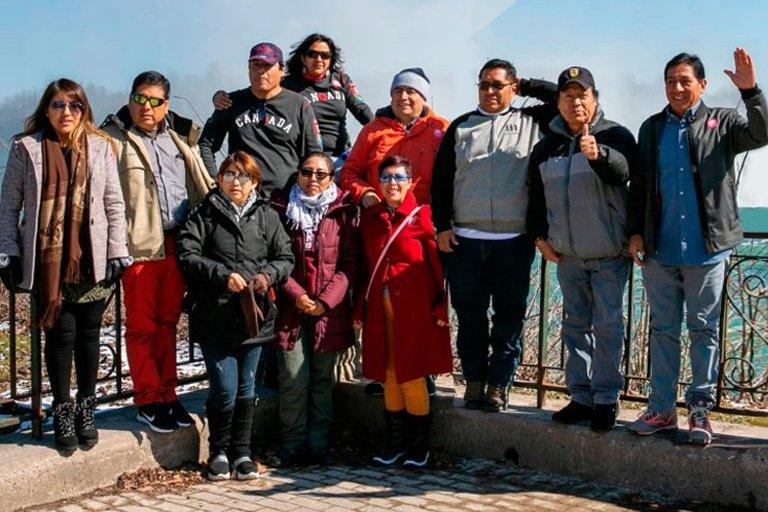 Delegación de la Cámara Minera del Perú visita Cataratas del Niágara
