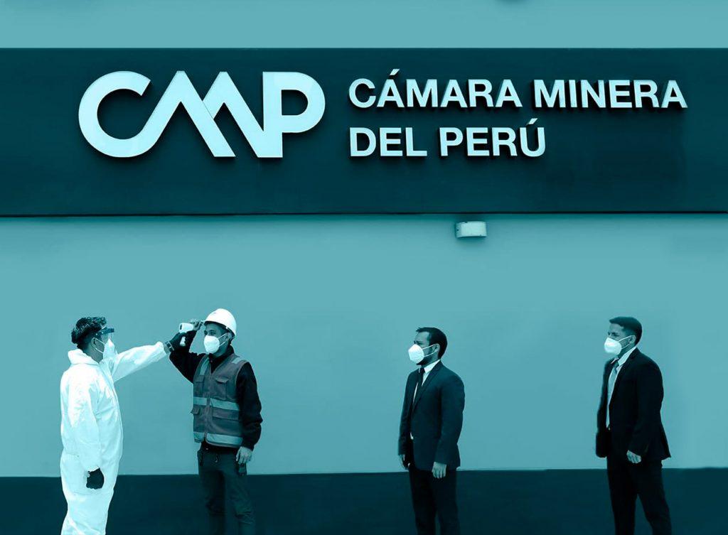 Medidas de Seguridad ante Covid-19 reforzadas en Cámara Minera del Perú